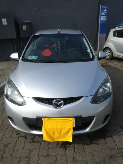 Mazda 2, 1.5, 2008, Gris Plata, Buen Estado