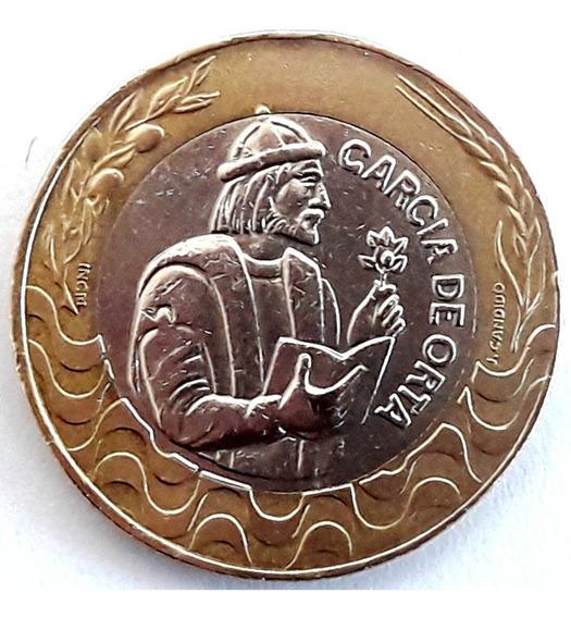 Portugal Moneda De 200 Escudos Del Año 1991 - Bimetálica