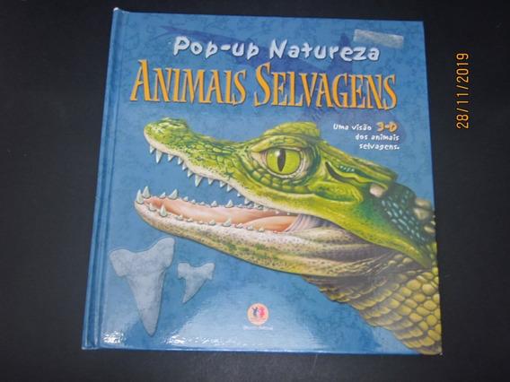 Livro Pop-up Natureza Animais Selvagens