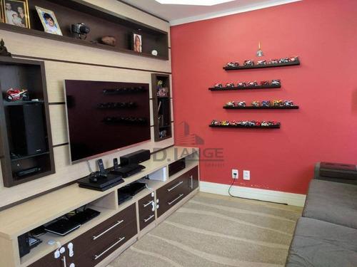 Imagem 1 de 22 de Casa Com 3 Dormitórios À Venda, 95 M² Por R$ 600.000,00 - Parque Rural Fazenda Santa Cândida - Campinas/sp - Ca14505