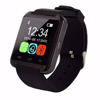 Smartwatch Bluetooth U8 Preto Compativel Com Android Touch