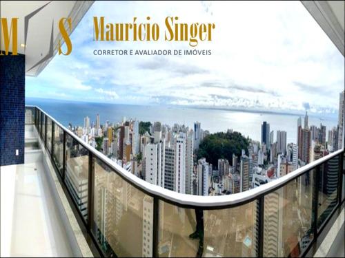 Apartamento 4 Suítes Para Venda Avenida Princesa Isabel - Graça - Salvador/ba - Ap00351 - 68799551