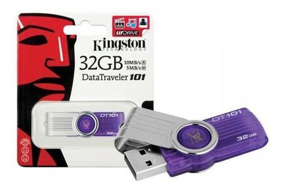 Pen Drive 32gb 2.0 Kingston Dt101