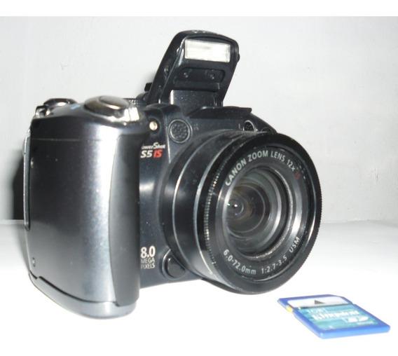 Camara Fotografica Digital Canon Power Shot S5 Is (100vrd)