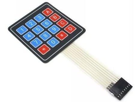 Teclado De Membrana De 4x4 Ideal Proyectos Arduino