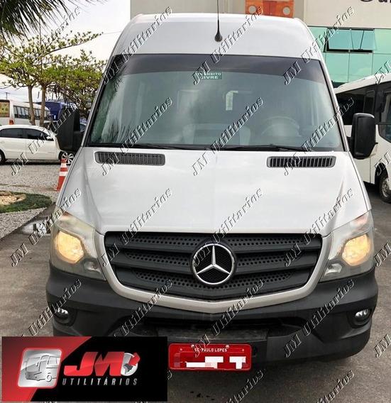 M.benz Sprinter Cdi 415 Ano 2017 Teto Alto Luxo Jm Cod 761