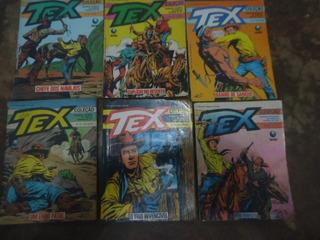 Lote 38. Com 6 Revista Tex Coleção