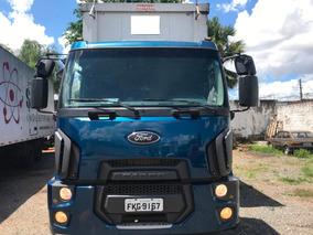 Ford Cargo 2429 Bitruck 2015 Baú Sider
