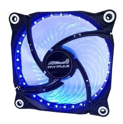 Cooler Fan Storm 12cm Gabinete Pc Led Azul Ou Vermelho Mymax