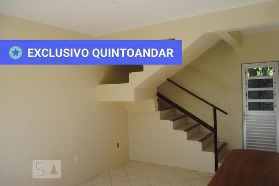 Apartamento Térreo Com 1 Dormitório E 2 Garagens - Id: 892944613 - 244613