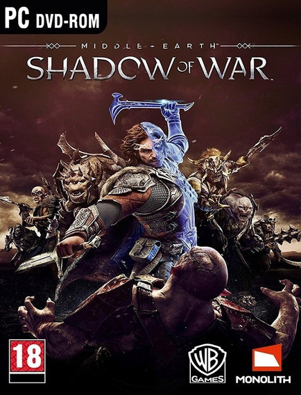 Middle Earth Shadow Of War Pc - Envio Rápido (steam Key)