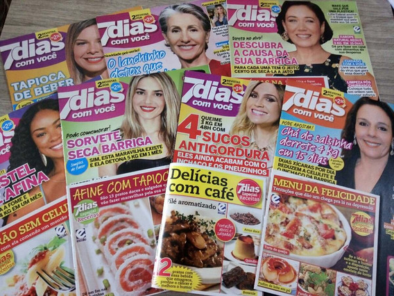 Lote De Revistas 7 Dias Com Caderno De Receitas