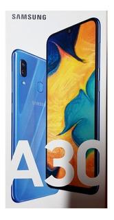 Celular Samsung Galaxy A30 - Nuevo Caja Cerrada - Garantia -premium 6 Cuotas Sin Interes C/todas Las Tarjetas De Credito