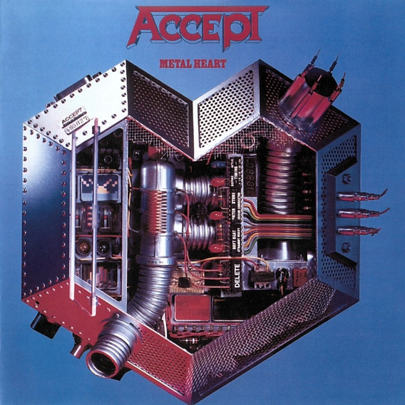 Accept Metal Heart Cd Nuevo Sellado Importado