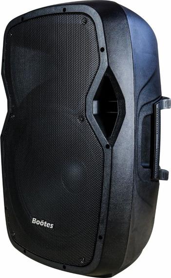 Caixa Som Prof Bluetooth Amplificada Ativa Sub 15pol Usb Nfe