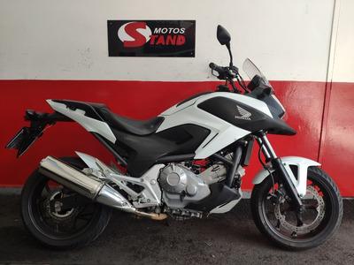 Honda Nc 700 X 700x 2014 Branca Branco