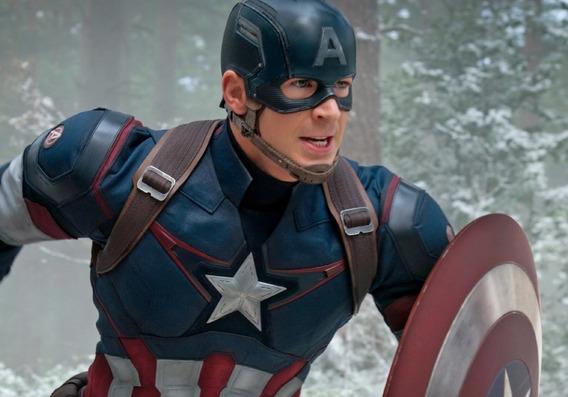 Camiseta Capitao America Primeiro Vingador Compressao Marvel