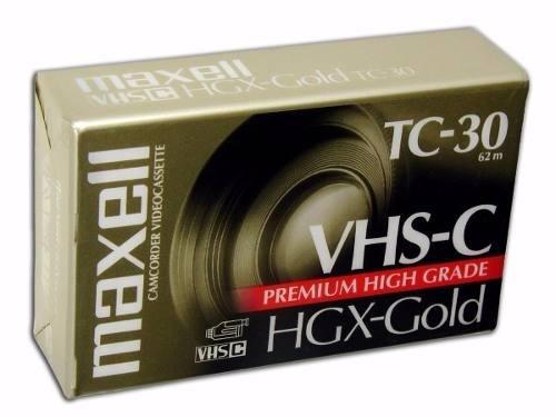 Fita P/ Filmadoras Jvc Panasonic Tc-30 Hgc-gold C/8 Un.