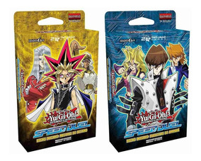 Yugioh Kit 2 Deck Duelo Rapido Yugi E Kaiba Speed Portugues