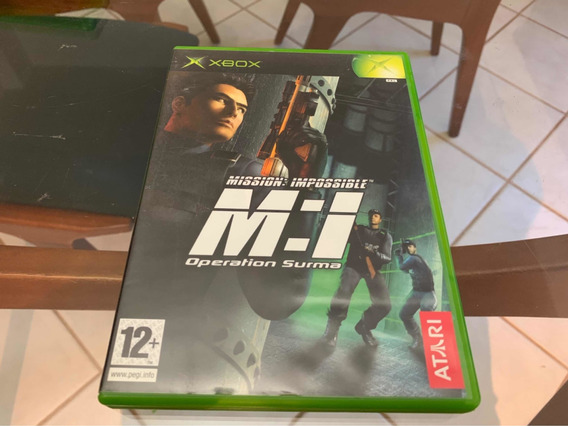 M:1 Mission Impossible Xbox Clássico Raro