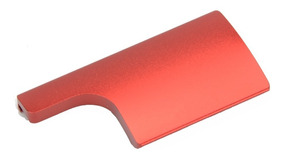 Trava Alumínio Caixa Estanque Câmera Gopro Hero 3+4 Vermelha