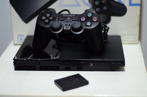 Playstation 2 Desbloqueado + 1 Controle + 1 Memory Card