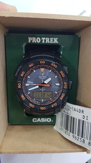 Relógio Casio Bateria Solar Pro Trek Prg-550