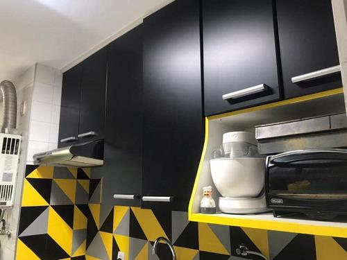 Imagem 1 de 30 de Apartamento Mobiliado Com 2 Dormitórios À Venda, 55 M² Por R$ 310.000 - Jardim Íris - São Paulo/sp - Ap4793v