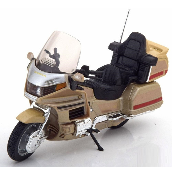 Moto Honda Gold Wing Coleccion Esc1:18 Metal Original