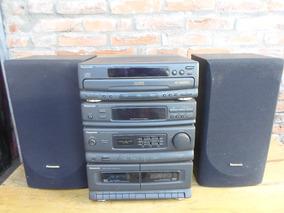 Radio Panasonic Sa Dh44 120 Volts Funcionando