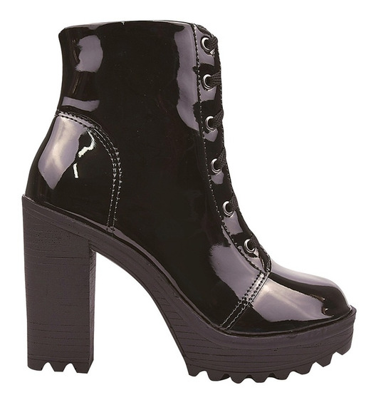 Bota Coturno Sapato Feminino Chiquiteira Chiqui/4042