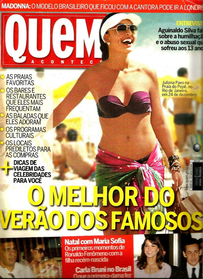 Revista Quem 434/09 - Juliana/marquezine/grazi/xuxa/sandy/lu