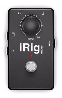 Ik Multimedia Irig-stomp Pedal P/guitarra O Bajo iPhone iPad