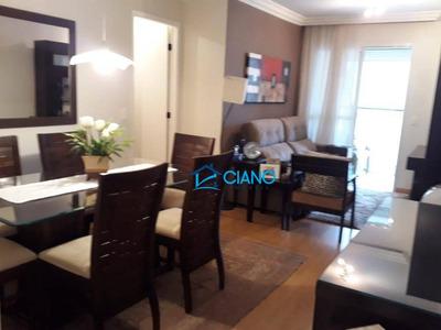 Apartamento Com 2 Dormitórios À Venda, 64 M² Por R$ 500.000 - Vila Bertioga - São Paulo/sp - Ap0614