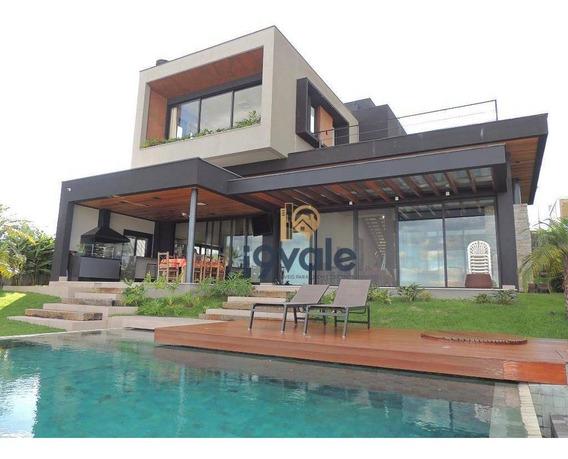 Casa Moderna De Alto Luxo E Sofisticação! Um Sonho Para Sua Qualidade De Vida, Urbanova Em Sjcampos/sp - Ca1518