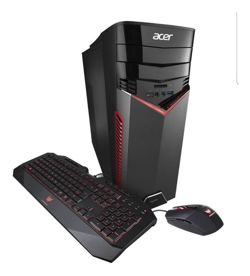 Lacrado Novo Pc Gamer Acer Core I7 16gb Nvidia Gtx 1060 6gb