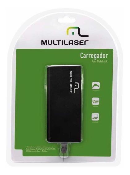 Carregador Para Notebook Multilaser Cb010 Novo No Blister