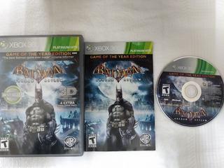 Batman Arkham Asylum De Xbox 360