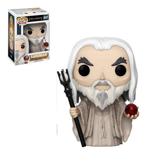 Funko Pop The Lord Of The Rings Saruman 447 Original Cellpla