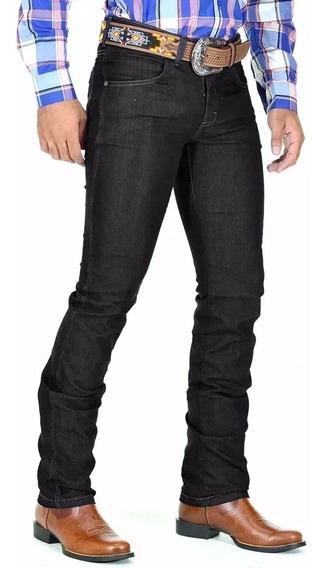 Calça Jeans Masculina Country Lycra Modelo Rodeio Avant