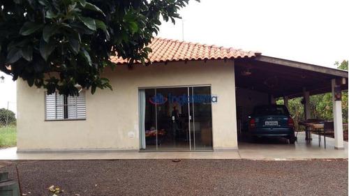Chácara À Venda, 2500 M² Por R$ 580.000,00 - Chácaras Itaúna  - Ibiporã/pr - Ch0043