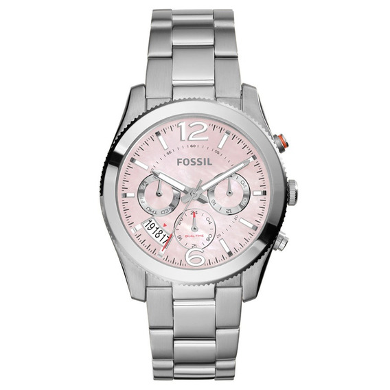 Relógio Fossil Feminino Perfect Boyfriend - Es4173/1kn Prata
