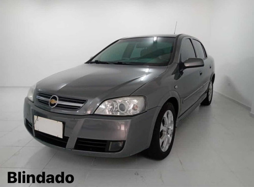 Blindado Chevrolet Astra Sedan Advantage 2.0 Flex 2011 Cinza