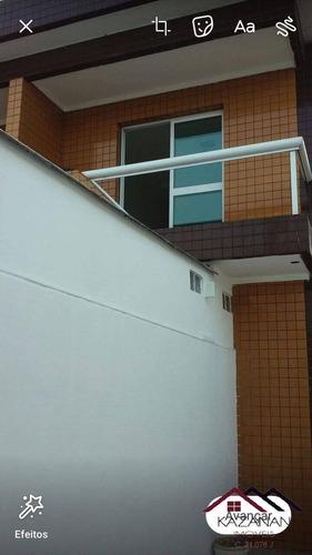 Casa Sobreposta Alta Em São Vicente Próximo Do Vlt - 3093