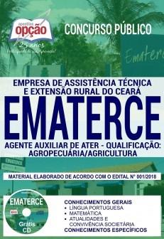 Apostila Ematerce 2018 Agente Auxiliar De Ater