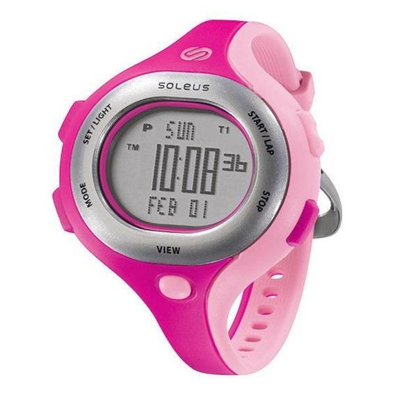 Relógio De Pulso Soleus Chicked - Pink/rosa Claro