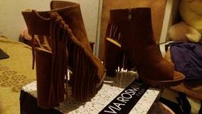 Zapatos De Mujer Color Camel (cafe Claro) N°39