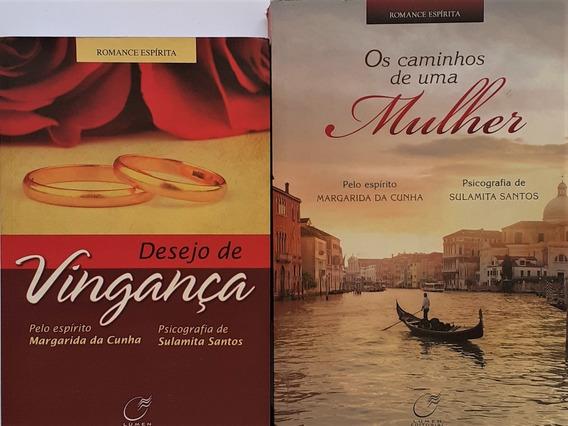 2 Margarida Da Cunha- Sulamita -desejo De Vingança + 1 Livro