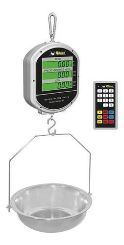 Báscula Digital Colgante Bacmu-40 40kg/5g Rhino Comprosi
