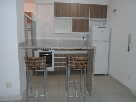 Apartamento Com 1 Dormitório Para Alugar, 55 M² Por R$ 2.200,00/mês - Boqueirão - Santos/sp - Ap3484